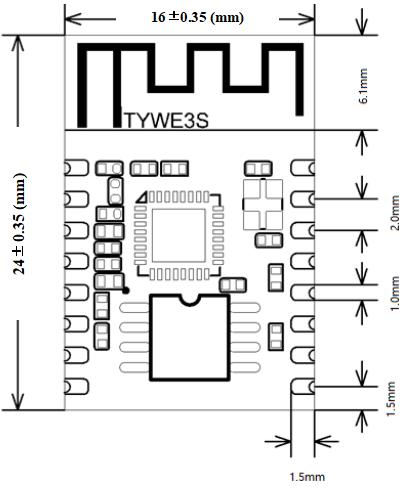 TYWE3S Module Datasheet