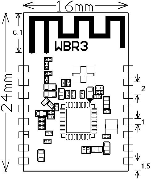 WBR3 Module Datasheet
