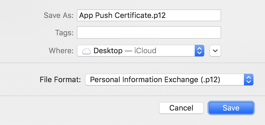 Making iOS Certificates