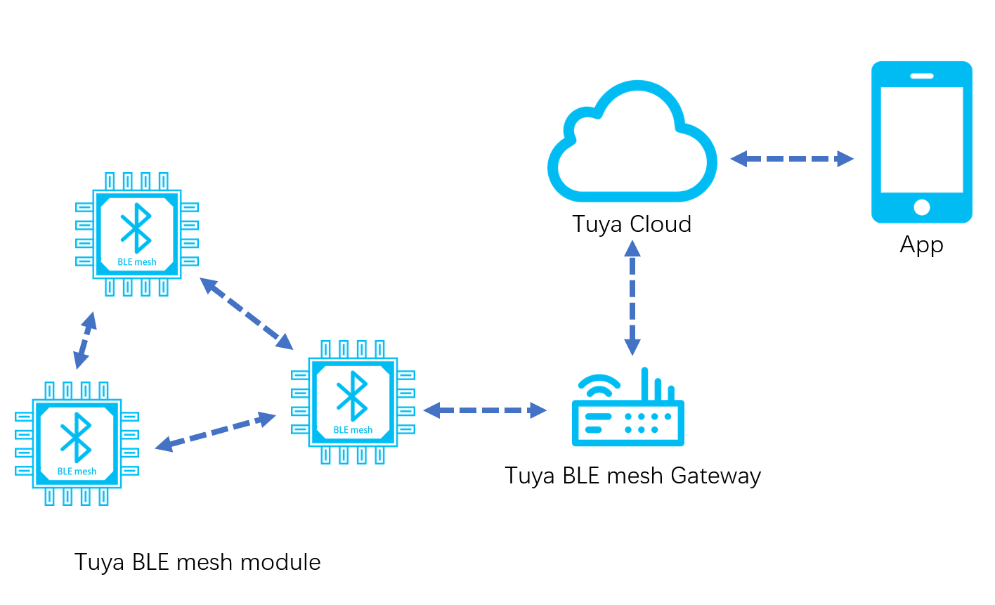 BLE mesh Module MCU Development Overview